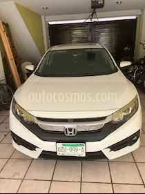 Honda Civic Turbo Aut usado (2017) color Blanco Marfil precio $275,000