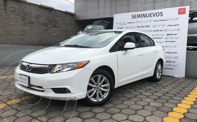 Foto Honda Civic EX usado (2012) color Blanco precio $180,000
