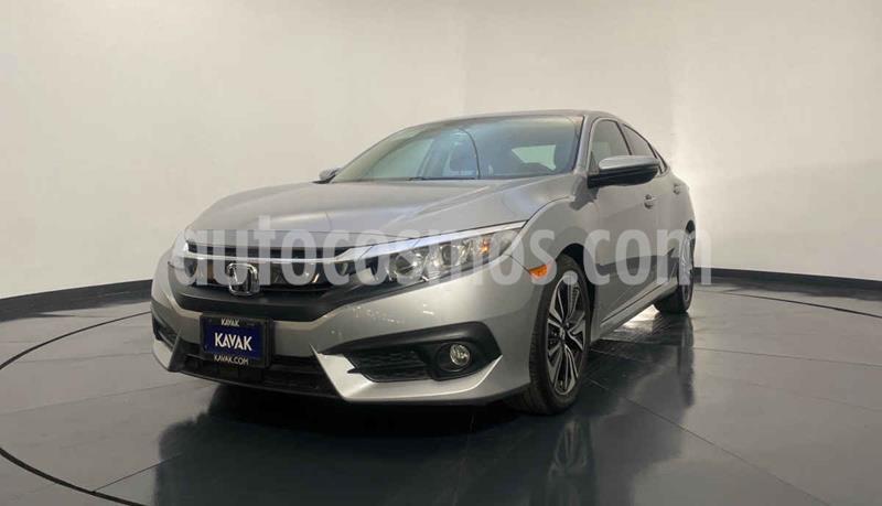 Honda Civic Coupe EX 1.8L Aut usado (2015) color Plata precio $277,999