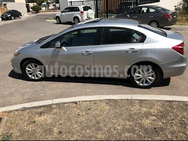 Honda Civic EXL 1.8L Aut NAVI usado (2012) color Plata precio $130,000