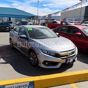 Honda Civic i-Style Aut usado (2018) color Plata Lunar precio $299,000