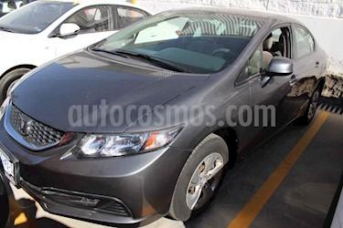 Honda Civic 4p LX Sedan 5vel usado (2013) color Gris precio $159,000