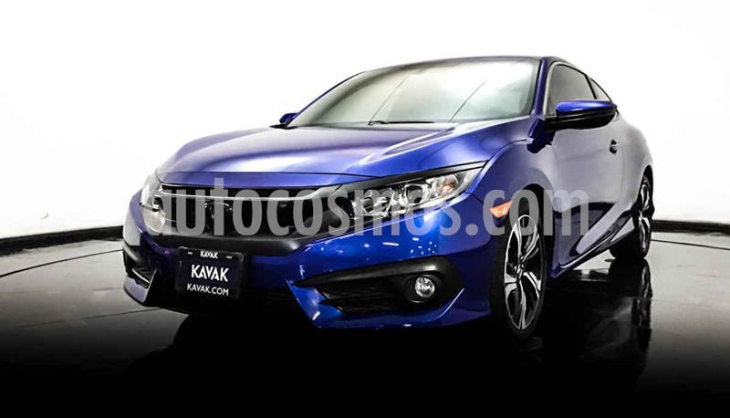 Honda Civic Coupe Turbo Aut usado (2018) color Azul precio $337,999