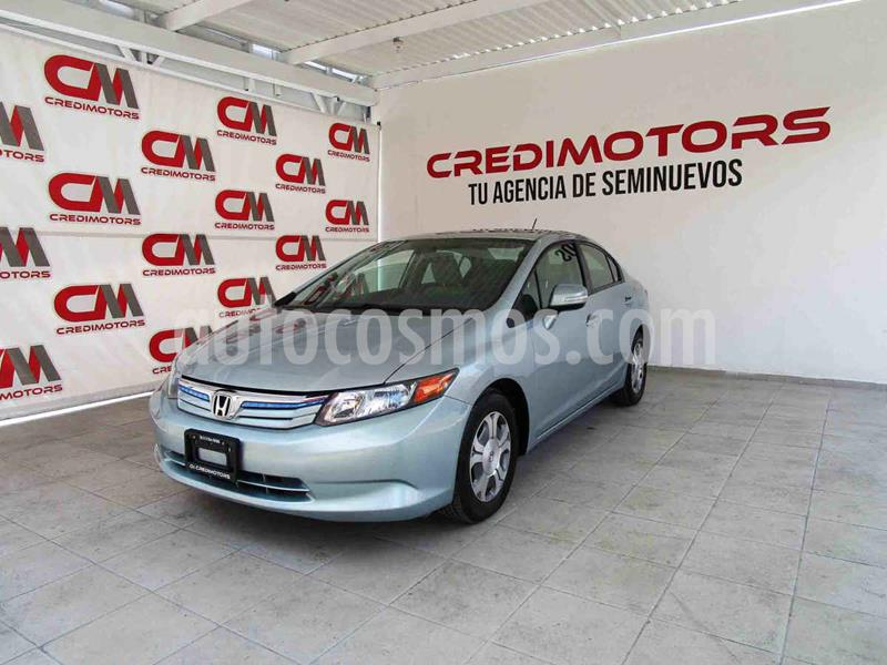 Honda Civic Hibrido usado (2012) color Plata precio $145,000