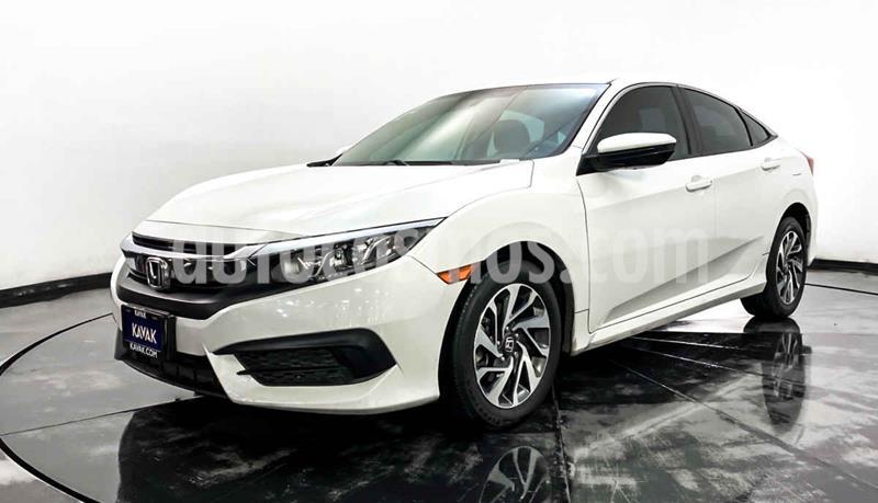 Honda Civic EX 1.8L Aut usado (2015) color Blanco precio $252,999