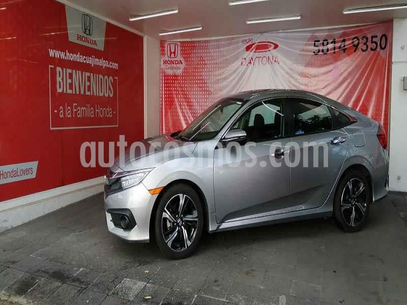 Honda Civic Touring Aut usado (2018) color Plata precio $367,000