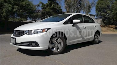 Honda Civic 4P LX SEDAN AT CD R-15 usado (2015) color Blanco precio $169,000