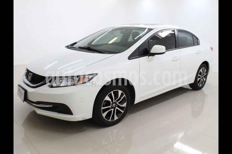 Honda Civic EX Aut usado (2013) color Blanco precio $165,000