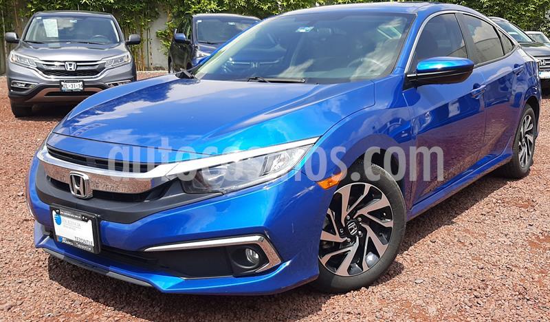 Honda Civic i-Style Aut usado (2019) color Azul precio $335,000