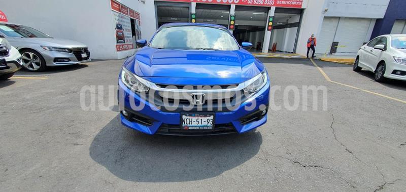 Honda Civic i-Style Aut usado (2018) color Azul precio $299,000