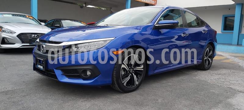 Honda Civic Touring Aut usado (2018) color Azul precio $351,000