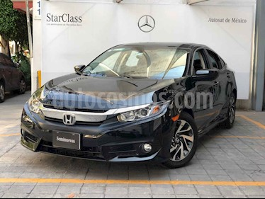 Honda Civic i-Style Aut usado (2018) color Negro precio $310,000