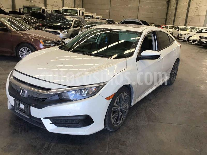 Honda Civic Turbo Aut usado (2017) color Blanco precio $164,000