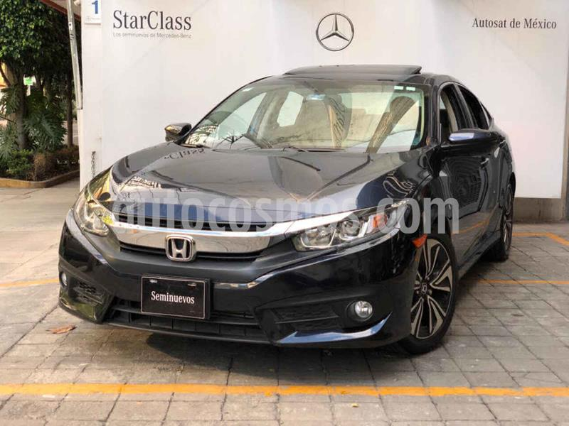 Honda Civic Turbo Plus Aut usado (2017) color Azul precio $310,000