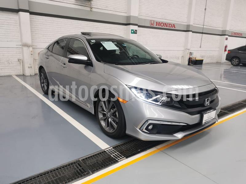 Honda Civic Turbo Plus Aut usado (2019) color Plata Dorado precio $390,000