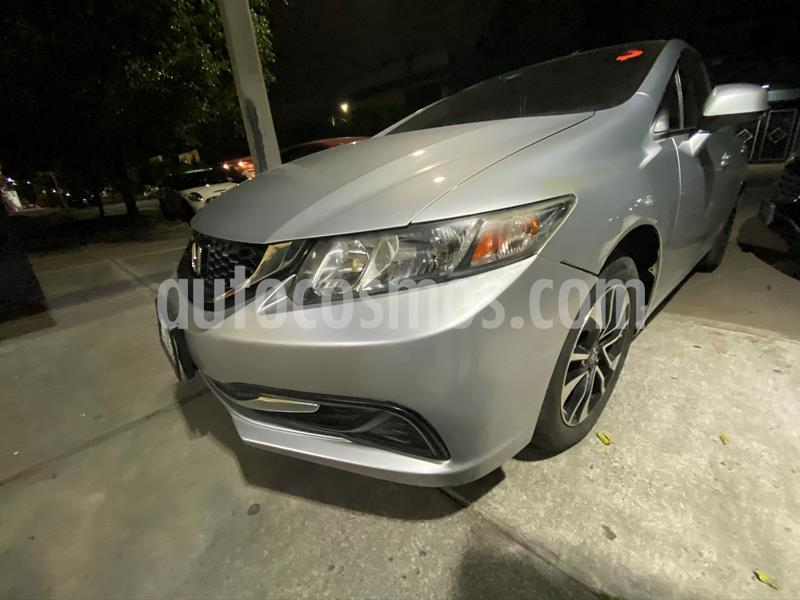 Honda Civic EXL 1.8L Aut usado (2013) color Plata precio $165,000