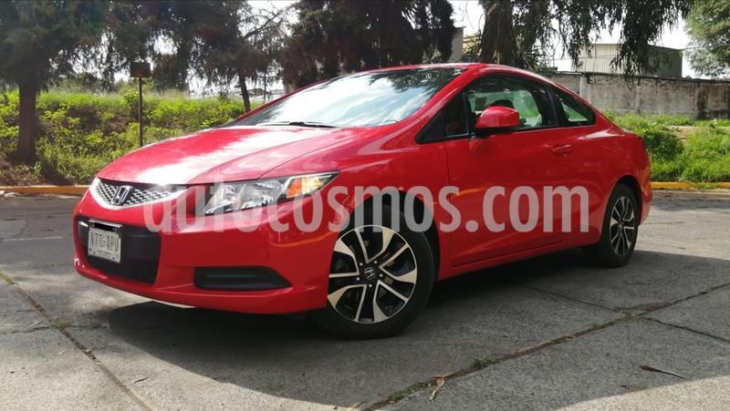 Honda Civic Coupe EX 1.8L usado (2013) color Rojo precio $169,000