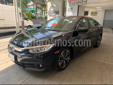 Honda Civic Turbo Plus Aut usado (2018) color Negro precio $305,000