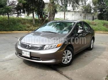 Foto Honda Civic 4P LX SEDAN L4/1.8 AUT usado (2012) color Gris precio $145,000