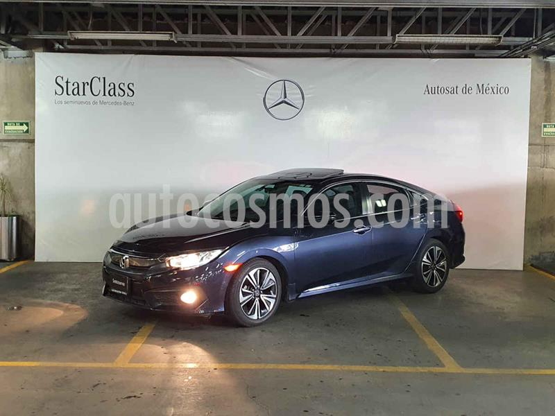 Honda Civic Turbo Plus Aut usado (2017) color Azul precio $299,000