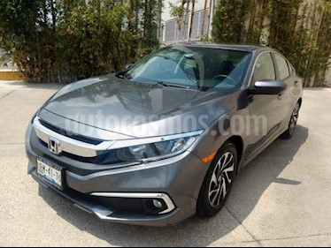 Honda Civic 4p i-Style L4/2.0 Aut usado (2019) color Gris precio $307,000