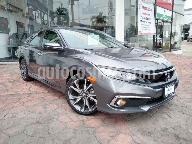 Honda Civic Touring Aut usado (2019) color Gris precio $427,000