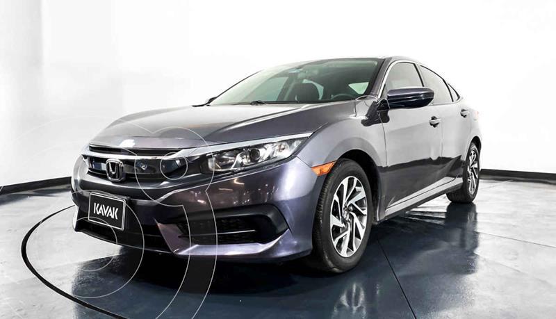 Foto Honda Civic EX 1.8L Aut usado (2015) color Gris precio $244,999