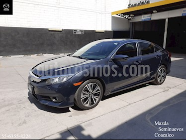 Honda Civic Turbo Plus Aut usado (2016) color Azul precio $259,900