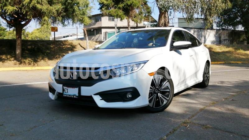 Honda Civic Turbo Plus Aut usado (2016) color Blanco precio $275,000