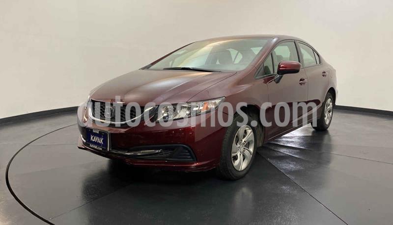 Honda Civic LX 1.8L Aut usado (2014) color Rojo precio $184,999