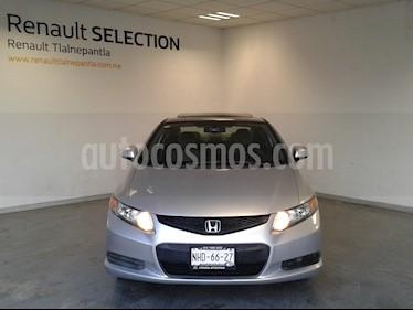 Honda Civic Coupe EX 1.7L Aut usado (2019) color Gris precio $145,000