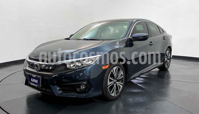 Honda Civic EX 1.8L Aut usado (2015) color Azul precio $284,999
