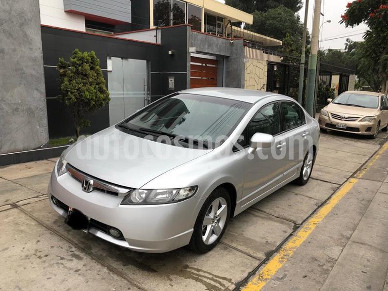 Honda Civic LX 1.8L usado (2006) color Plata Alabastro precio $6,500