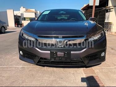 Foto venta Auto usado Honda Civic Touring Aut (2018) color Acero precio $400,000