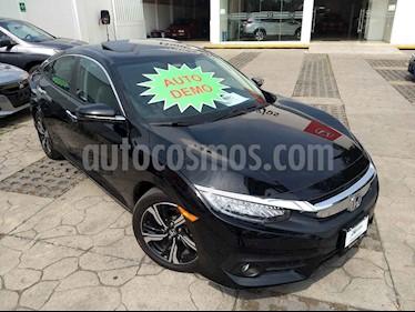 Foto venta Auto usado Honda Civic Touring Aut (2018) color Negro precio $408,000
