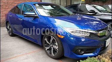 Foto venta Auto usado Honda Civic Touring Aut (2018) color Azul precio $369,000