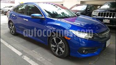 Foto venta Auto usado Honda Civic Touring Aut (2018) color Azul precio $385,000