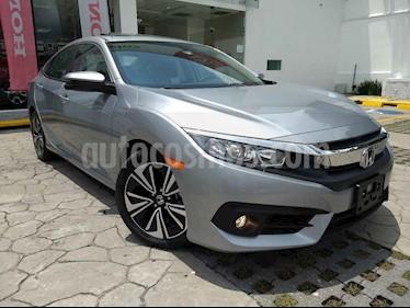 Foto venta Auto usado Honda Civic Touring Aut (2018) color Plata precio $385,900