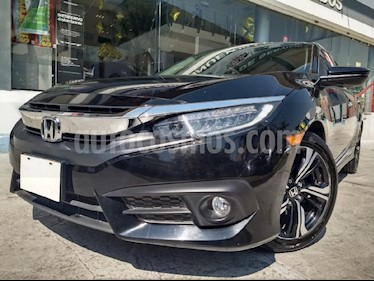 Foto venta Auto usado Honda Civic Touring Aut (2018) color Negro precio $375,000