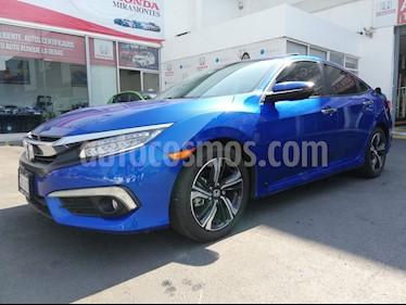 Foto venta Auto usado Honda Civic Touring Aut (2018) color Azul precio $380,000