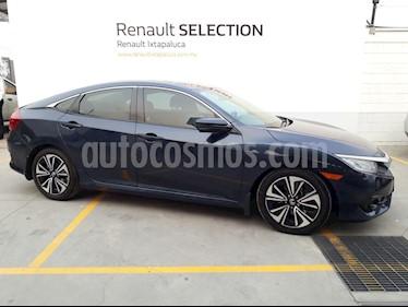 Foto venta Auto usado Honda Civic Turbo Aut (2017) color Azul precio $33,000