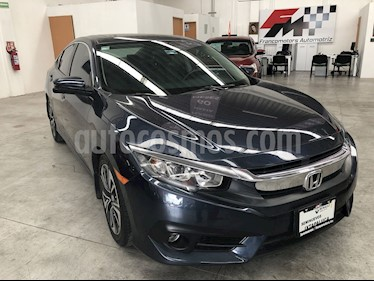 foto Honda Civic Turbo Aut usado (2017) color Azul precio $330,000