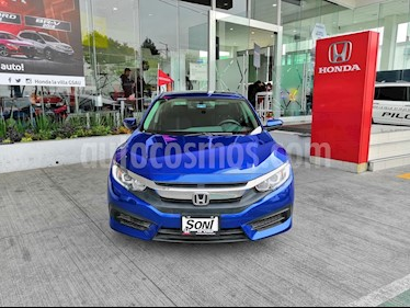 Foto venta Auto usado Honda Civic Turbo Aut (2017) color Azul precio $329,900