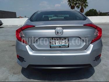 Foto venta Auto usado Honda Civic Turbo Aut (2017) color Plata precio $295,000