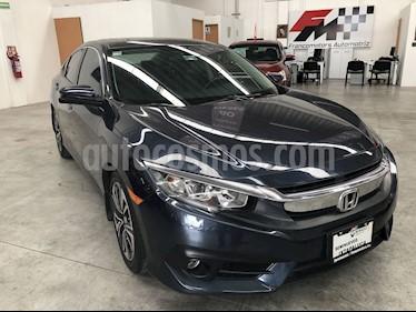 Foto venta Auto usado Honda Civic Turbo Aut (2017) color Azul precio $330,000