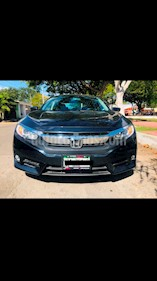 Foto Honda Civic Turbo Plus Aut usado (2016) color Azul precio $289,000