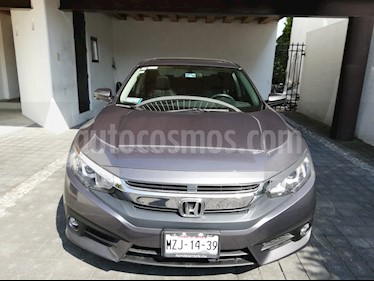 Honda Civic Turbo Plus Aut usado (2016) color Gris precio $310,000