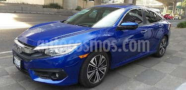 Foto venta Auto Seminuevo Honda Civic Turbo Plus Aut (2016) color Azul precio $309,000