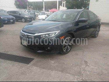Honda Civic Turbo Plus Aut usado (2016) color Azul precio $275,000