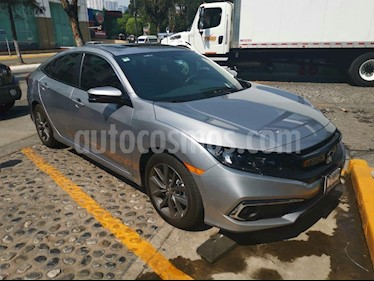 Foto venta Auto usado Honda Civic Turbo Plus Aut (2019) color Gris precio $390,000